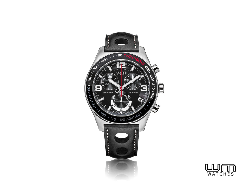 WM watches Enzo27 Black