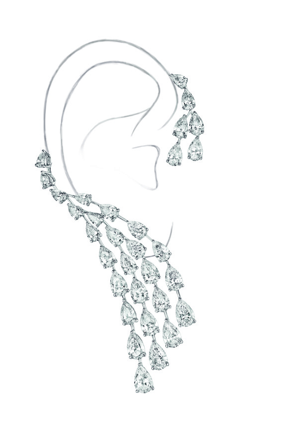 Messika Joaillerie- Calypso earcuff- Diamants