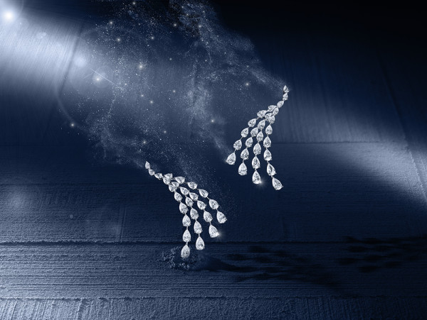 Messika Joaillerie- Calypso earrings- Diamants